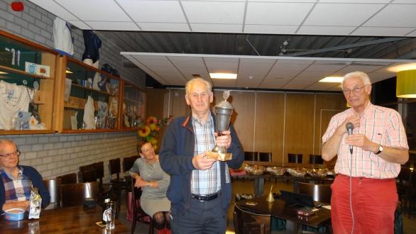 Eind resultaat Ben Smit Kampioen 2015 -2016