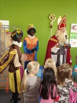 Morgen 30 Nov komt Sint Nicolaas op bezoek bij sv Twello.