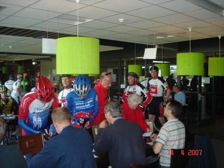 Zaterdag 5 April  -- Veluwse Toertocht ETT 600 deelnemers