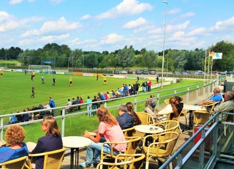 9 Augustus -de start van Go Ahead Eagles op de Zuiderlaan.