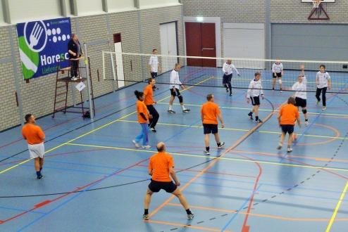 Volleybal Interne Wedstrijden Svtwello  januari 2015