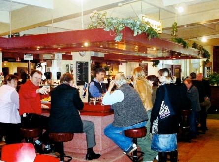 Bar V&K oud clubhuis 2006