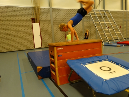 Sportieve seizoensopening afdeling gymnastiek 2015/2016