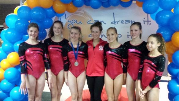SV Twello pak 8 medailles op Turnschool Rijssen Toernooi