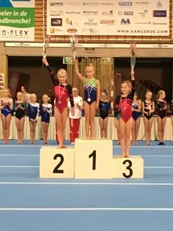 Lenne en Anke behalen 2e en 3e plaats